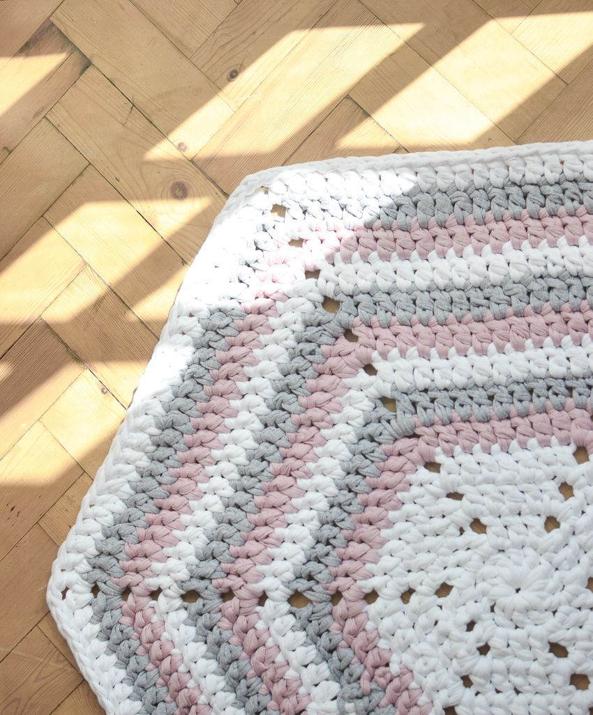 Unique How to Make A Crochet Hexagon Rug Crochet Rug Patterns with Yarn Of Great 50 Images Crochet Rug Patterns with Yarn
