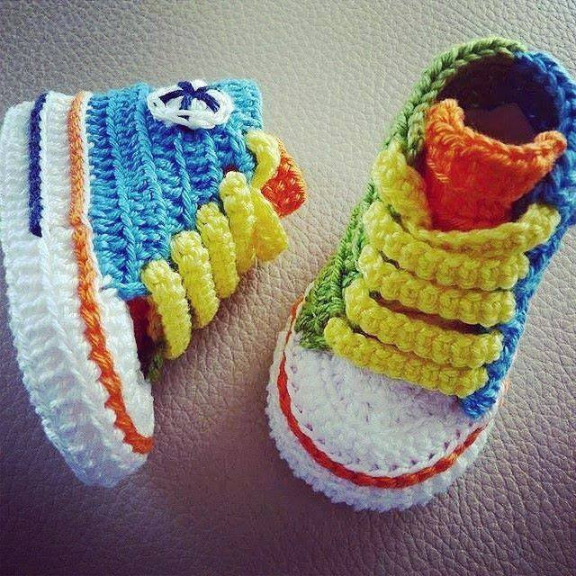 Unique How to Make Converse Crochet Booties Crochet Converse Baby Booties Of Wonderful 41 Models Crochet Converse Baby Booties