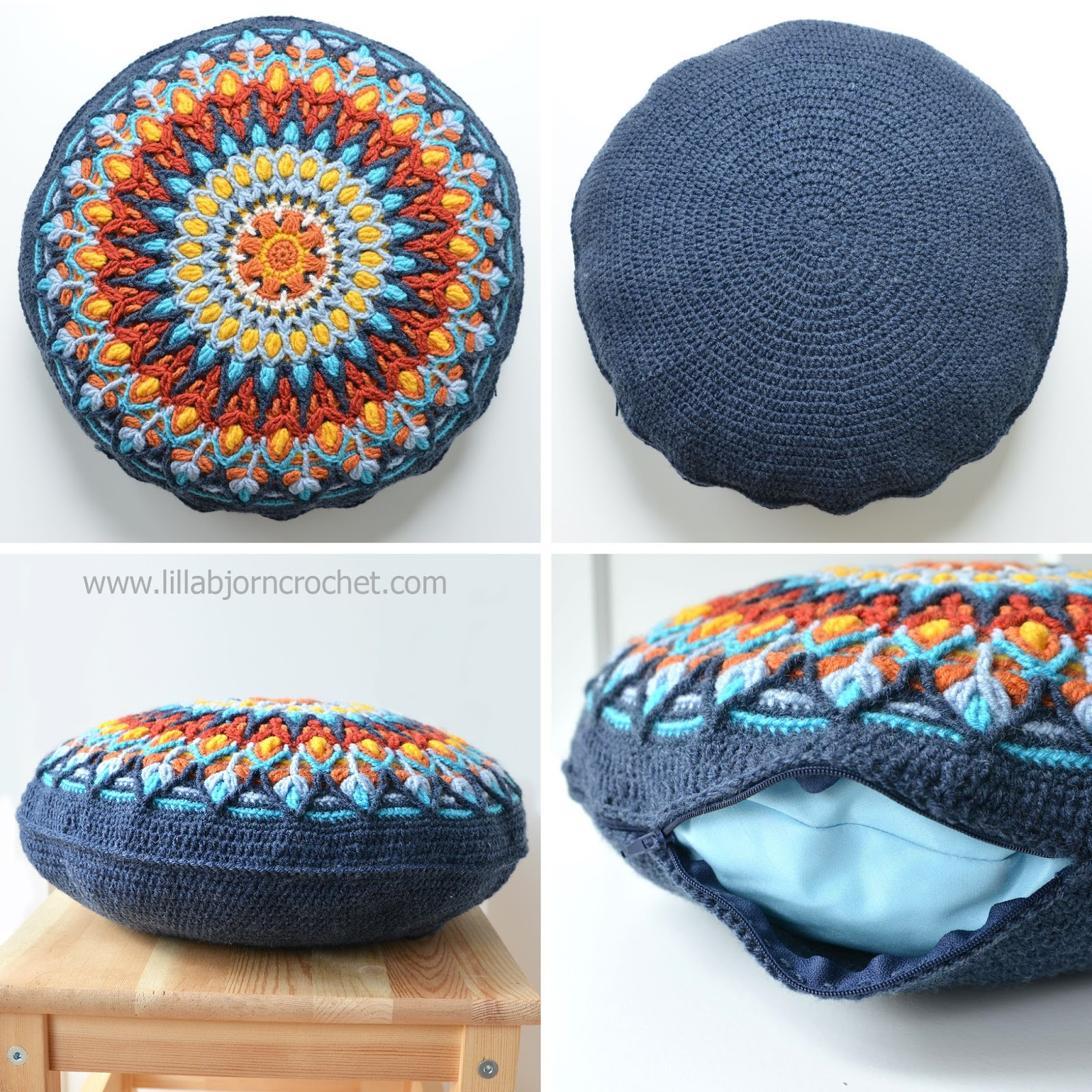 Unique How to Make Round Pillow form In 4 Easy Steps Crochet Round Pillow Of Contemporary 43 Models Crochet Round Pillow