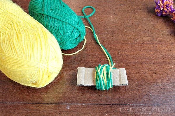 How to Make Simple Yarn Pom Poms Home Made Interest
