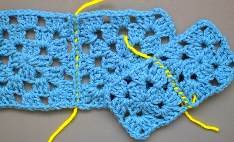 Unique How to Sew Crochet Granny Squares to Her Easy Peasy Crochet Squares together Of Lovely 43 Ideas Crochet Squares together