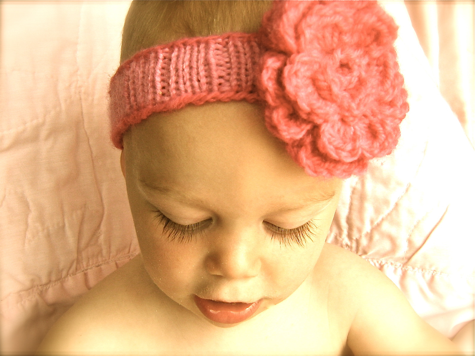 """Unique I D Rather Be Knitting """"spring"""" Baby Headband Baby Headband Pattern Of Awesome 49 Pics Baby Headband Pattern"""
