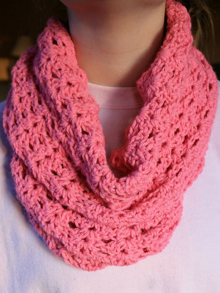 Infinity scarf free pattern Enjoy