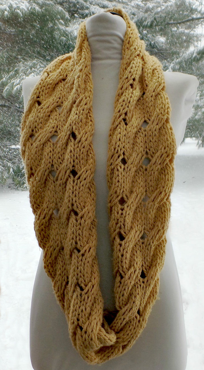 Unique Infinity Scarf Knitting Patterns Knitted Cowl Of Brilliant 41 Models Knitted Cowl