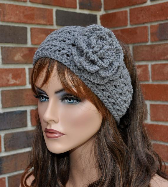 Unique Items Similar to Crochet Ear Warmer Crochet Headband with Crochet Head Warmer Of Fresh 39 Photos Crochet Head Warmer
