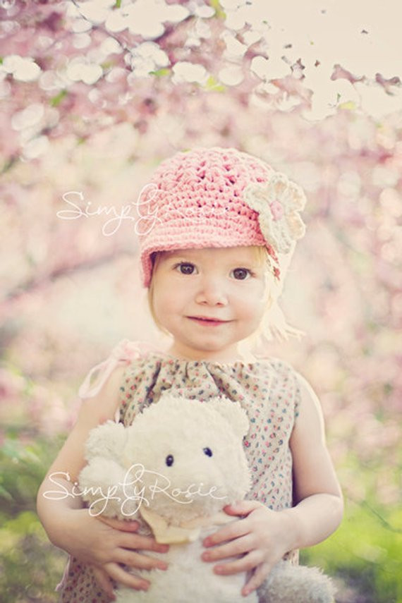 Unique Items Similar to Little Girls Hats Crochet Girls Hat Crochet Little Girl Hats Of Charming 40 Images Crochet Little Girl Hats