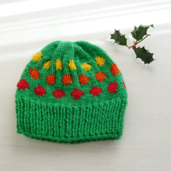 Unique Items Similar to Polka Dots Knit Pattern Hat Baby Adult Hat Knitting Pattern Of Awesome 47 Images Adult Hat Knitting Pattern