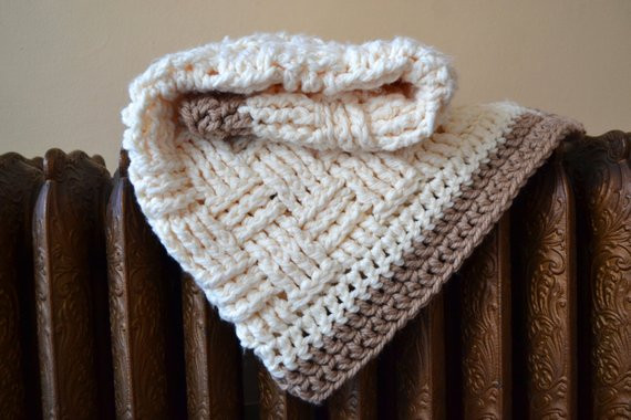 Unique Items Similar to White Crochet Baby Blanket Basket Weave Basket Weave Crochet Blanket Of Great 49 Pictures Basket Weave Crochet Blanket