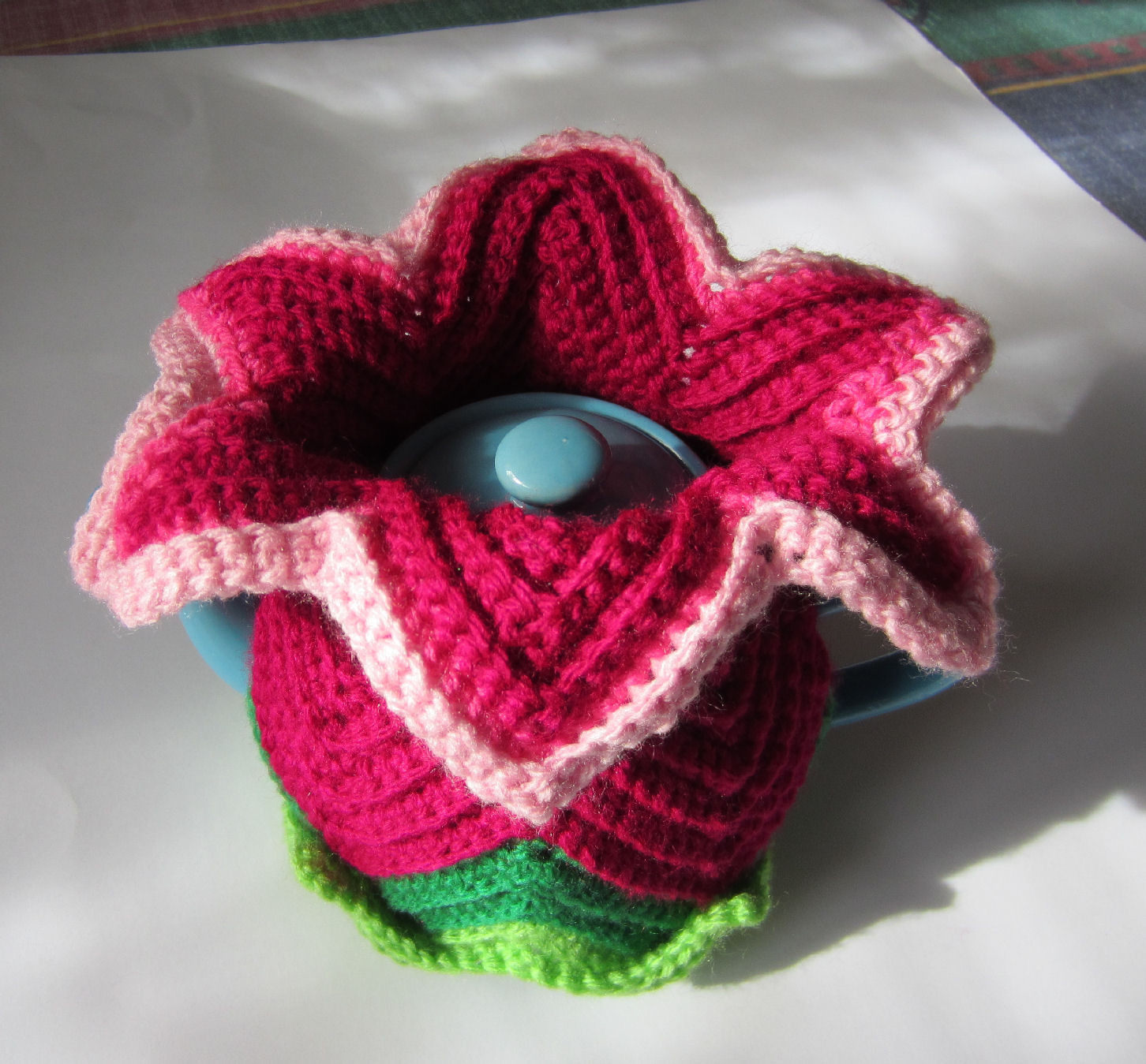Unique Justjen Knits&stitches Daylily Tea Cosy for Mother S Day Tea Cozy Crochet Pattern Of Perfect 49 Models Tea Cozy Crochet Pattern