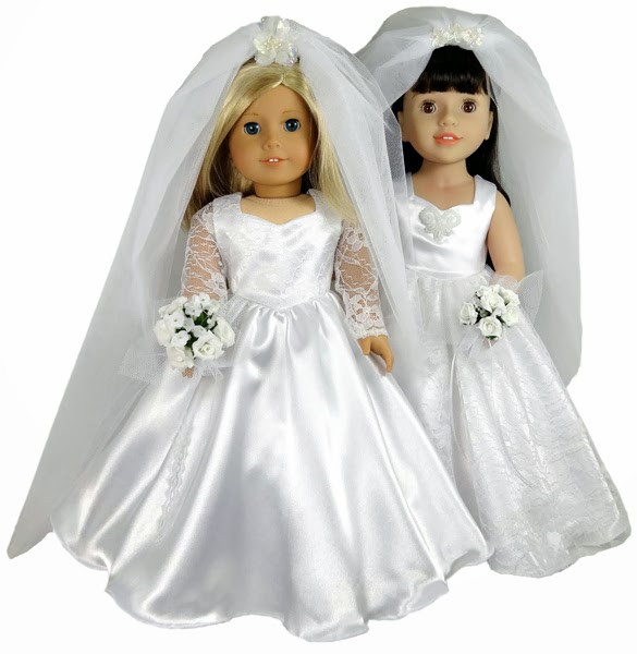 Unique Karen Mom Of Three S Craft Blog New From Rosie S Patterns American Girl Doll Wedding Dress Of Inspirational 2015 Romantic Wedding Dress Clothing for Dolls Mini White American Girl Doll Wedding Dress