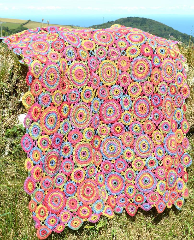 Unique Kissing Circles Crochet Blanket Crochet Pattern by Amanda Crochet Circle Blanket Of Innovative 46 Models Crochet Circle Blanket