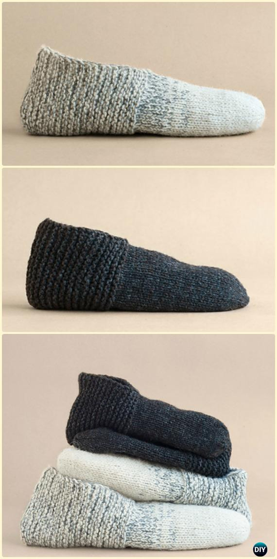 Unique Knit Adult Slippers & Boots Free Patterns Written Tutorials Knitted Booties for Adults Of Delightful 47 Images Knitted Booties for Adults