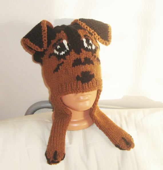 Unique Knit Airedale Terrier Hat Adult Dog Hat Dog Lover Gift Knitted Dog Hats Of Innovative 49 Images Knitted Dog Hats