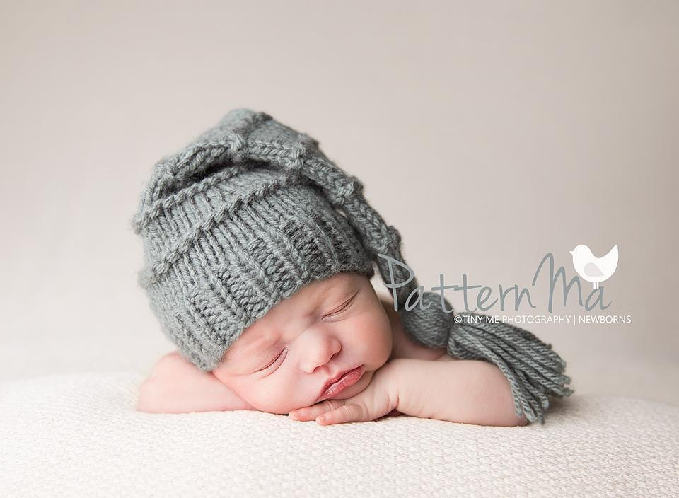 Knit Hat Stocking Cap by PatternMa Craftsy