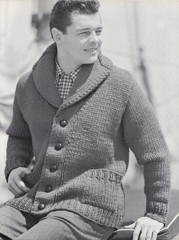 Unique Knit Mens Cardigan with Shawl Collar Vintage Knitting Pdf Mens Patterned Cardigan Of Charming 50 Models Mens Patterned Cardigan