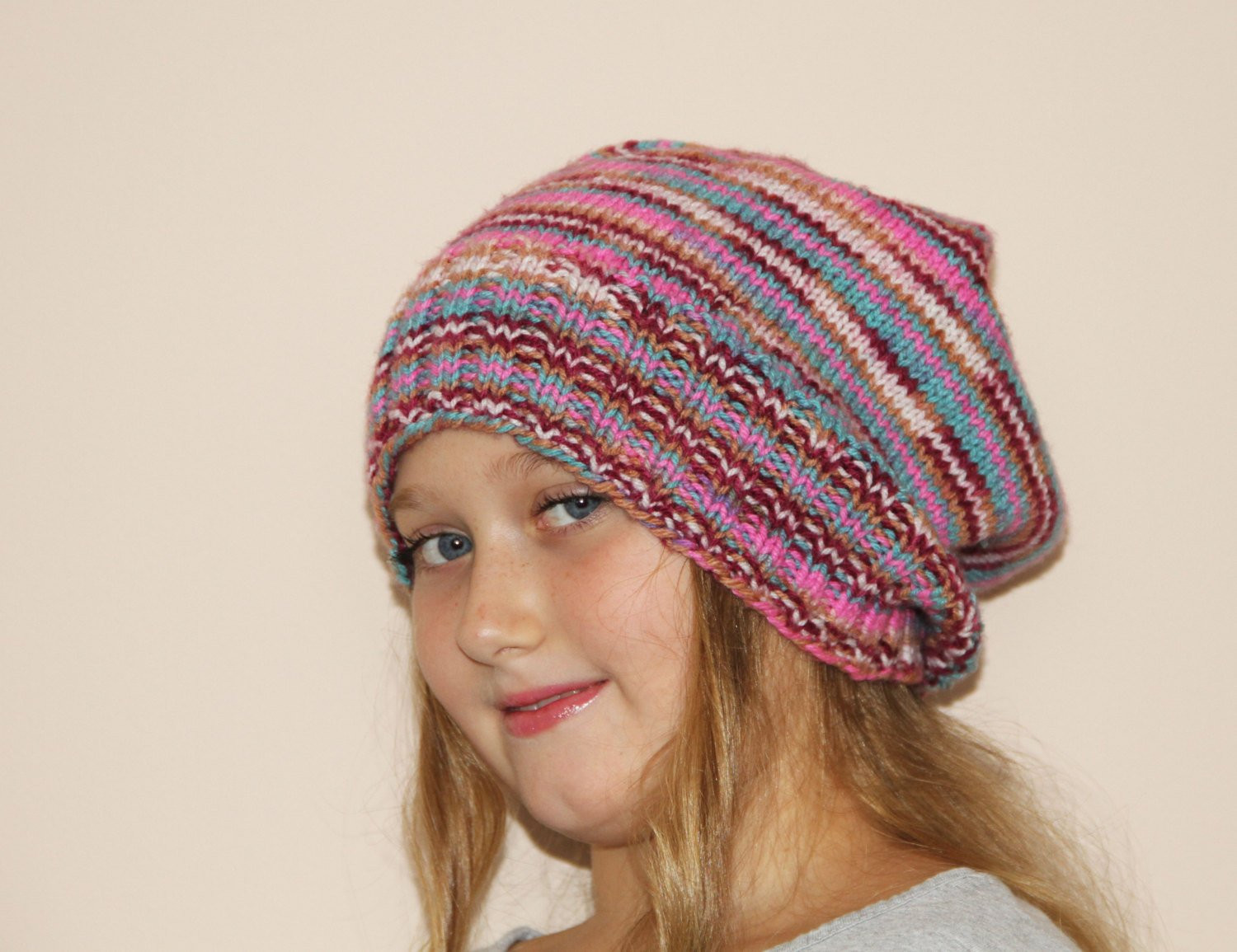 Unique Knit Slouchy Beanie Hat Teen Women by Happywoollies On Etsy Knit Slouchy Beanie Of Lovely 42 Images Knit Slouchy Beanie