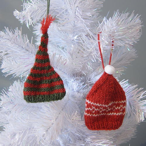 Unique Knit Tiny Hat ornaments Knitted Christmas Hats Of Adorable 50 Models Knitted Christmas Hats