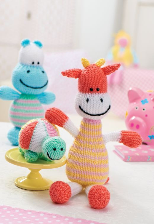 knitted baby toys free patterns