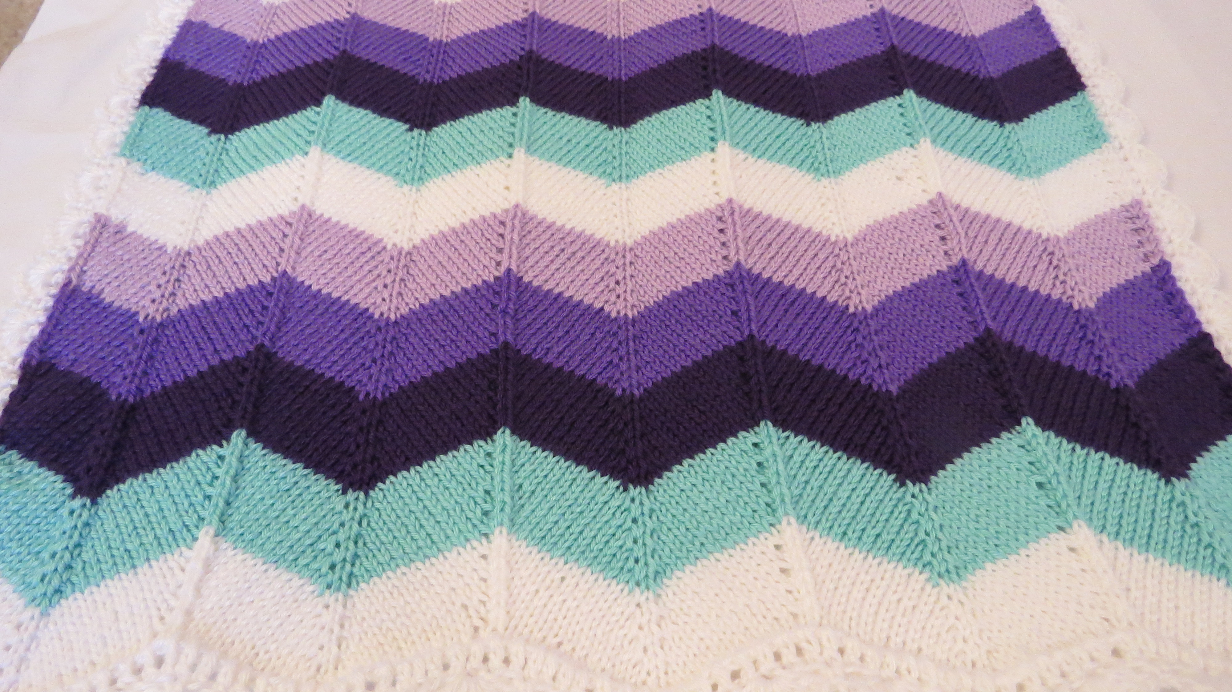Unique Knitted Chevron – A Nerdy Crocheter Chevron Baby Blanket Pattern Of Marvelous 43 Photos Chevron Baby Blanket Pattern