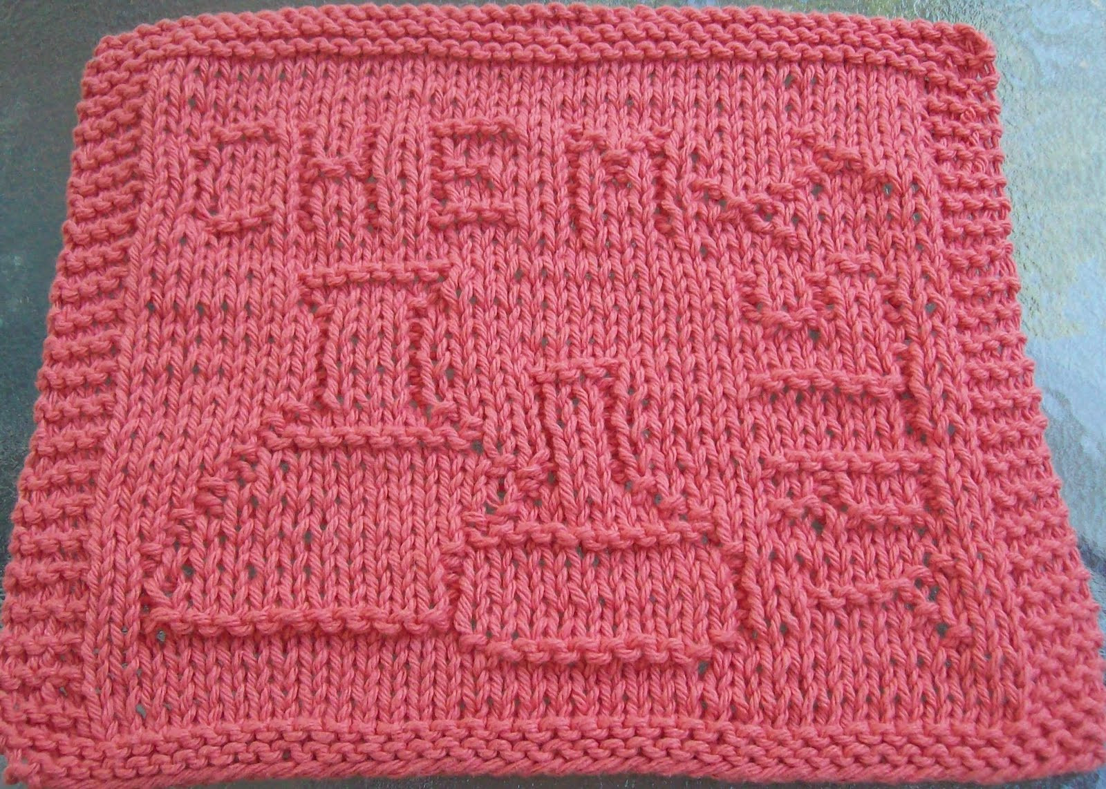 Knitted Dishcloth Patterns Bing images