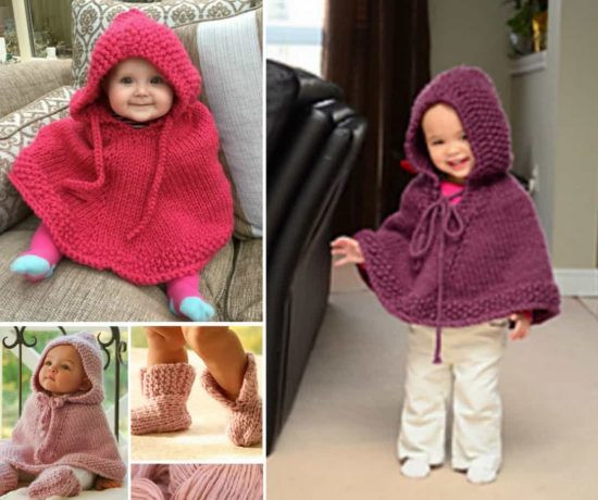 Unique Knitted Hooded Baby Poncho Pattern Free Baby Poncho Knitting Pattern Of Amazing 42 Pics Baby Poncho Knitting Pattern