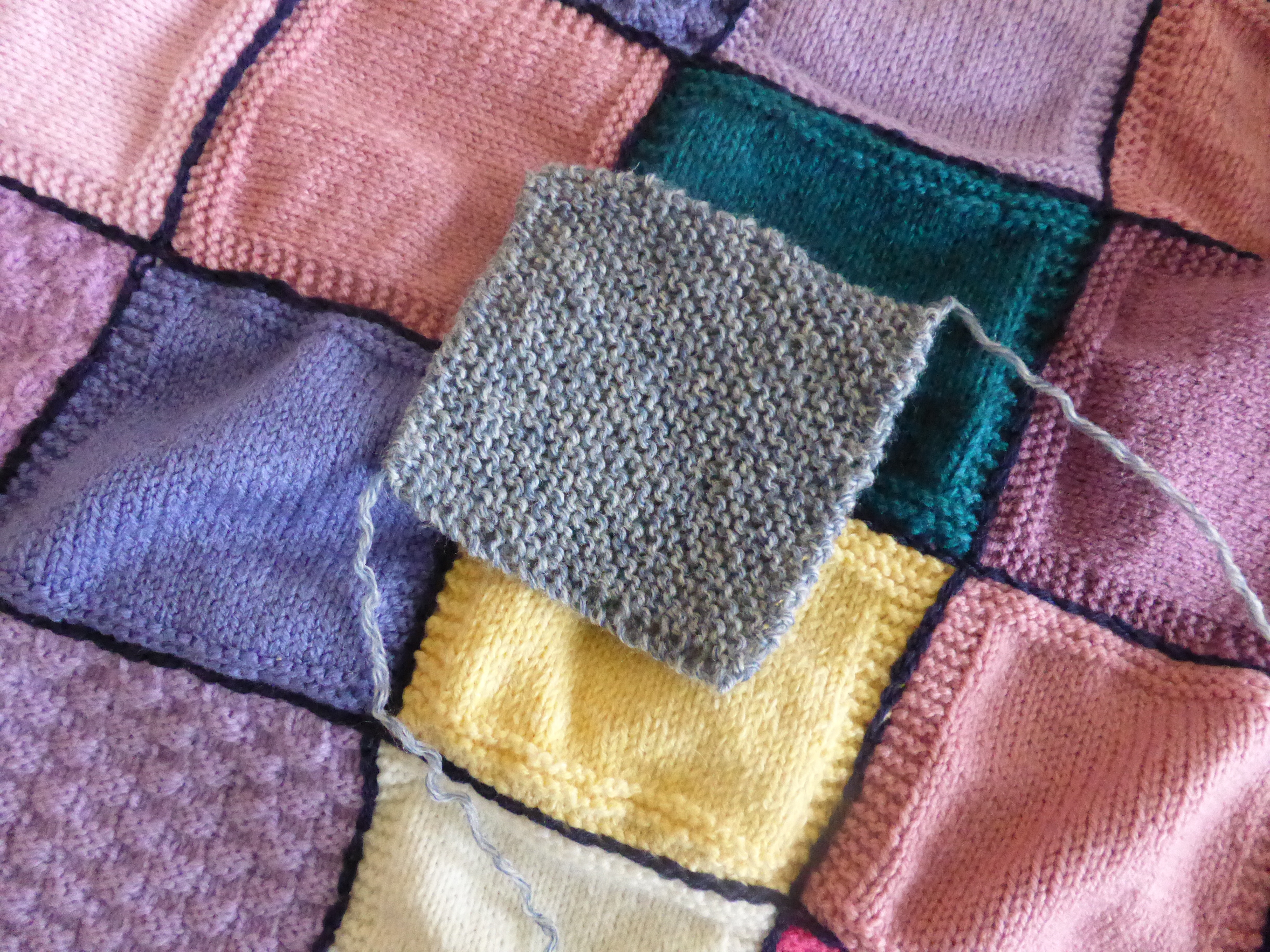 Unique Knitting A Square… Knitted Blanket Squares Of Unique 45 Photos Knitted Blanket Squares