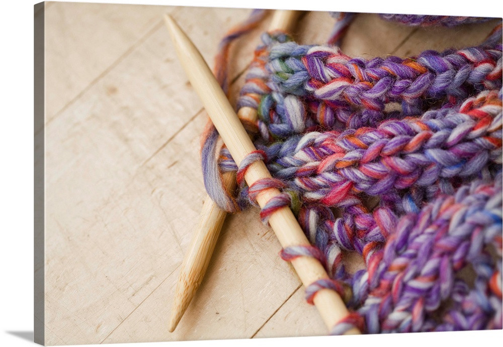 Knitting Needles And Wool For Beginners