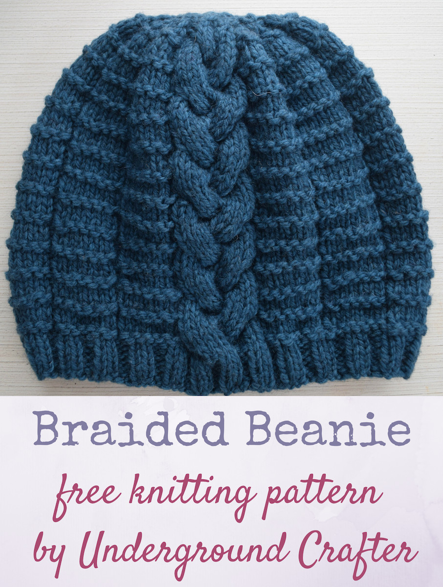 Unique Knitting Pattern Braided Beanie Beanie Pattern Of Perfect 47 Pics Beanie Pattern