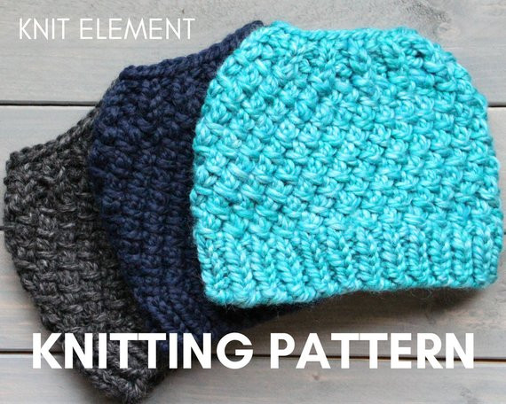 Unique Knitting Pattern Messy Bun Hat Knit Pattern Knit Ponytail Free Messy Bun Hat Pattern Of Amazing 42 Ideas Free Messy Bun Hat Pattern