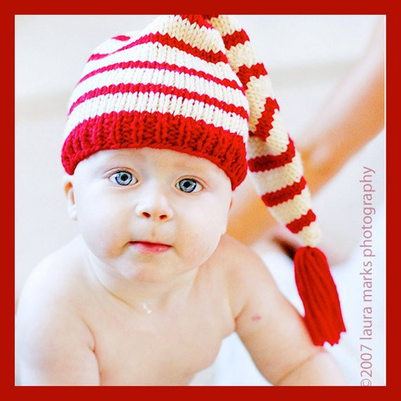 Unique Knitting Pattern Tutorial Baby Hat Stocking Cap Pixie Hat Knitted Christmas Hats Of Adorable 50 Models Knitted Christmas Hats