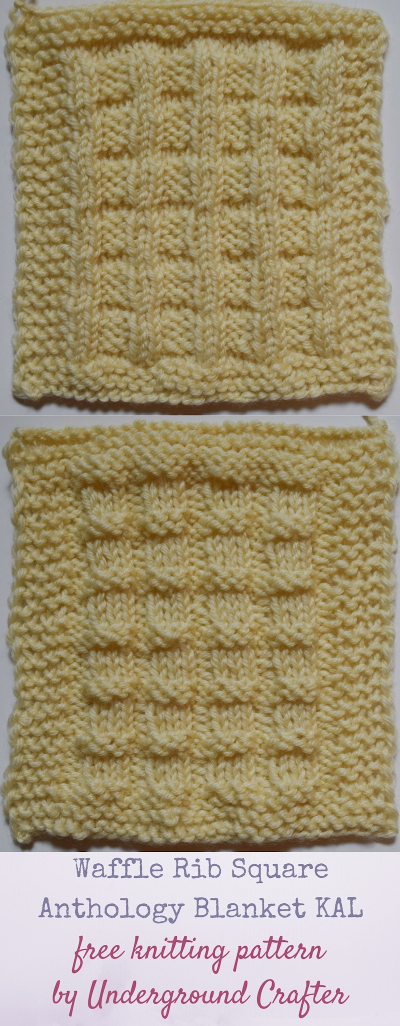 Unique Knitting Pattern Waffle Rib Square Knitted Square Patterns Of Lovely 50 Models Knitted Square Patterns