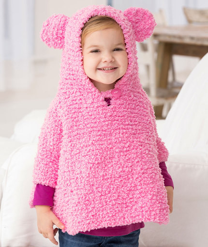 Unique Knitting Patterns Galore Playful Hooded Poncho Baby Poncho Pattern Of Gorgeous 49 Images Baby Poncho Pattern