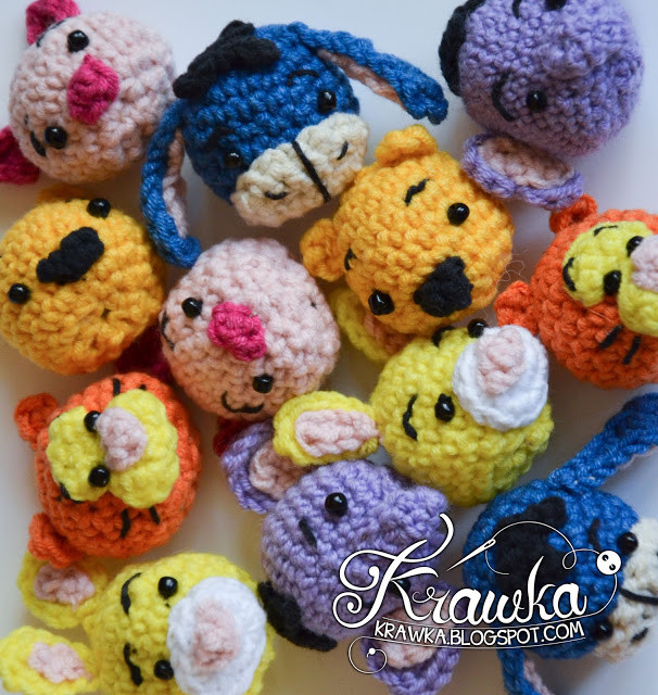 Unique Krawka Pooh and Friends Minis Pattern Winnie the Pooh Crochet Pattern Of Amazing 47 Photos Winnie the Pooh Crochet Pattern
