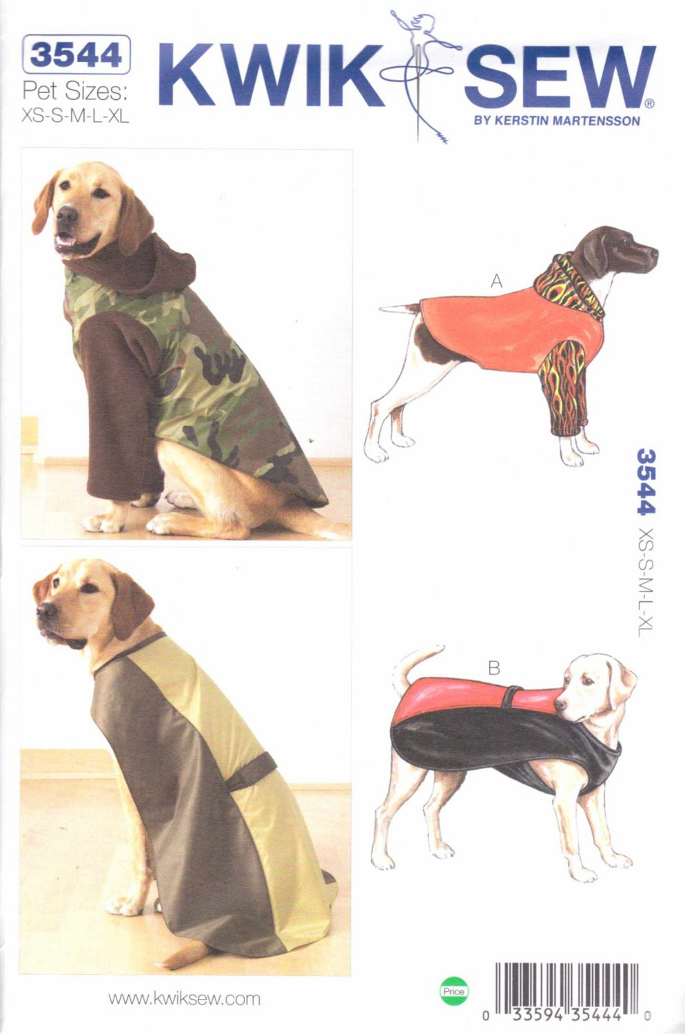 Unique Kwik Sew Sewing Pattern 3544 Sizes Xs Xl Dog Coats Raincoat Dog Sewing Patterns Of Amazing 40 Images Dog Sewing Patterns