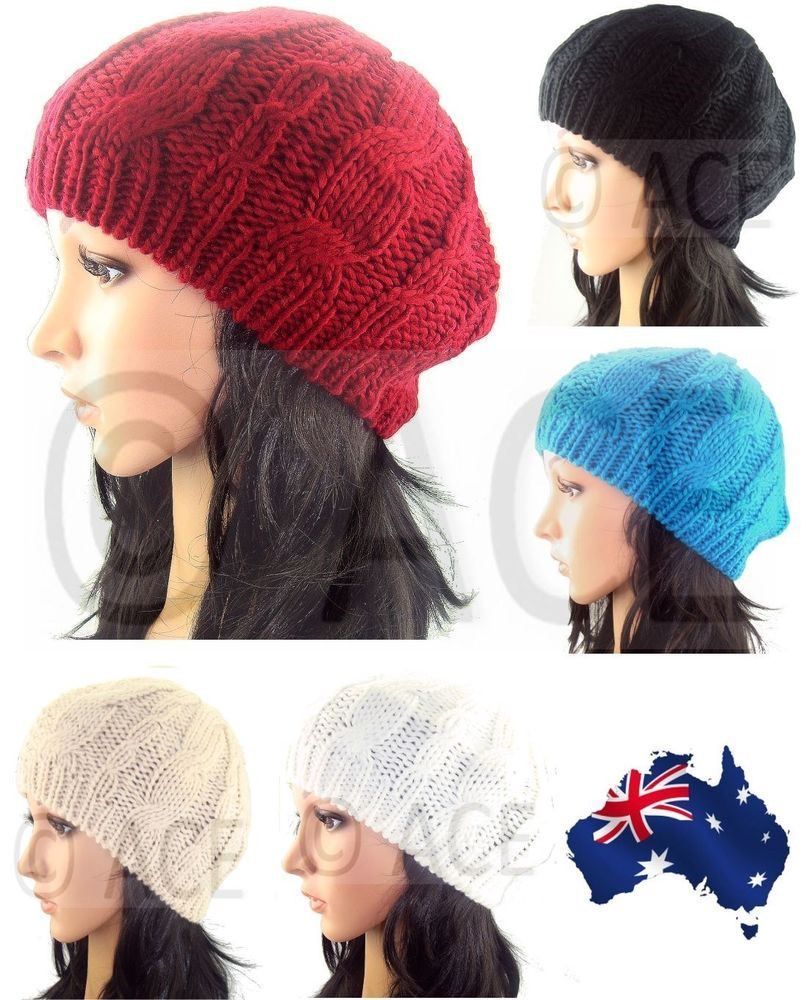 Unique La S Beret Womens Beanies Women Beanie Hat Cable Knit Ladies Knitted Hats Of Adorable 50 Pictures Ladies Knitted Hats