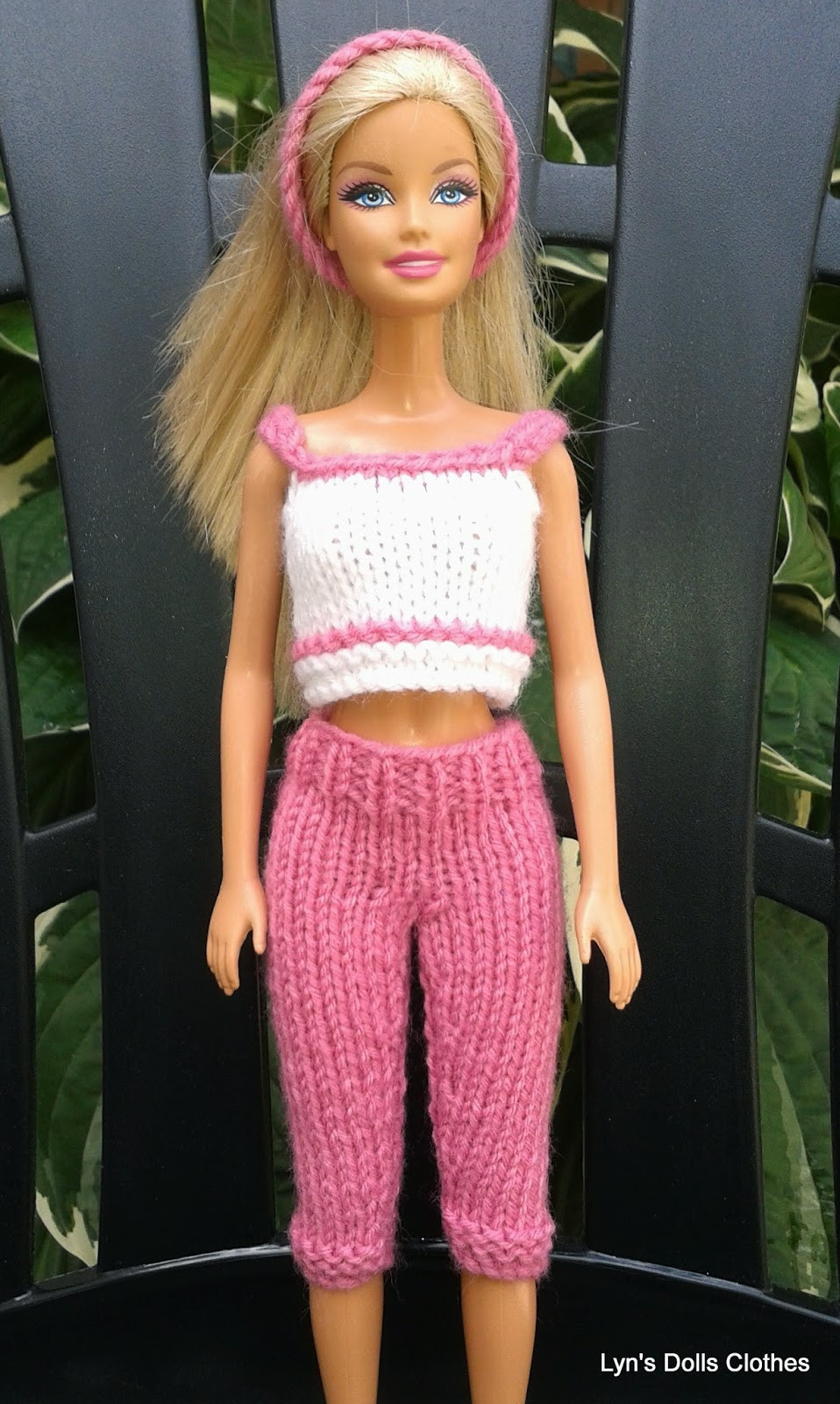 Unique Linmary Knits Barbie Knitted Capri Pants and Cropped top Barbie Doll Clothes Patterns Of Contemporary 50 Pictures Barbie Doll Clothes Patterns