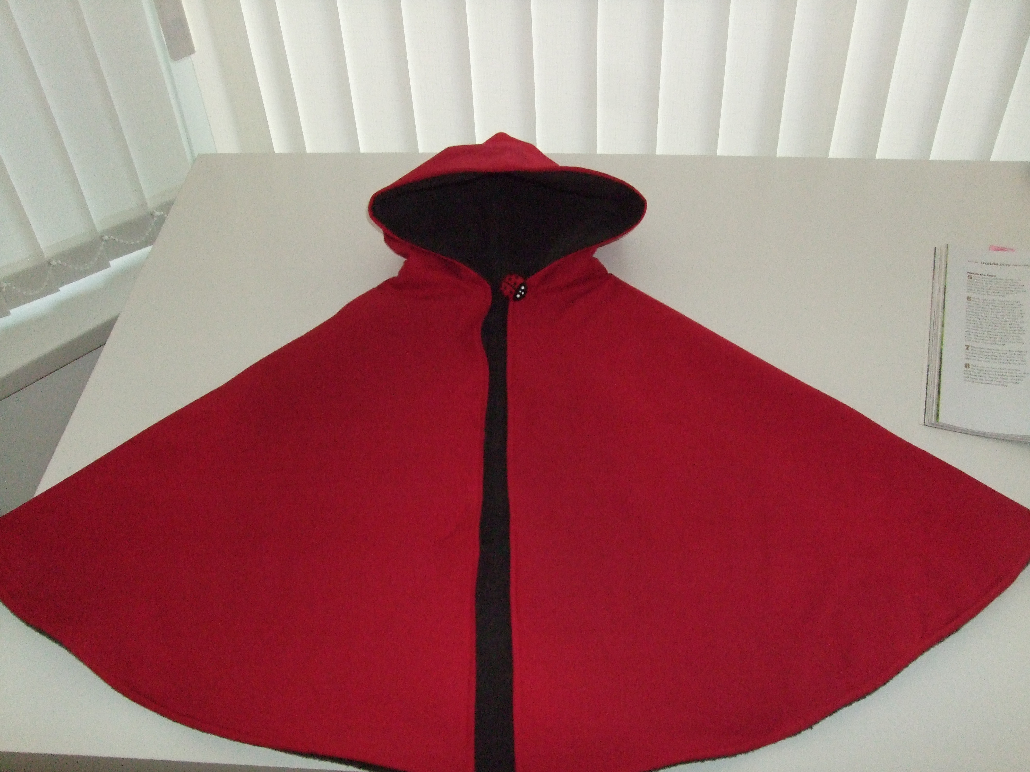 Unique Little Red Riding Hood Big Bad Wolf Reversible Play Cape Red Riding Hood Cape Pattern Of Charming 43 Pictures Red Riding Hood Cape Pattern