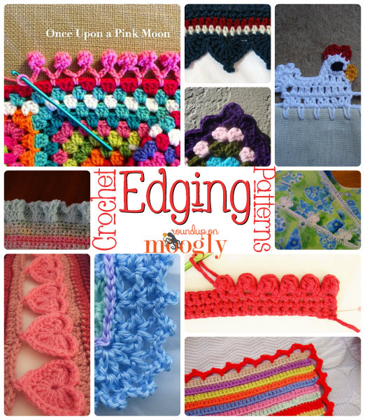 Unique Living On the Edge with 10 Free Crochet Edging Patterns Free Crochet Edging Patterns Of Perfect 47 Pics Free Crochet Edging Patterns