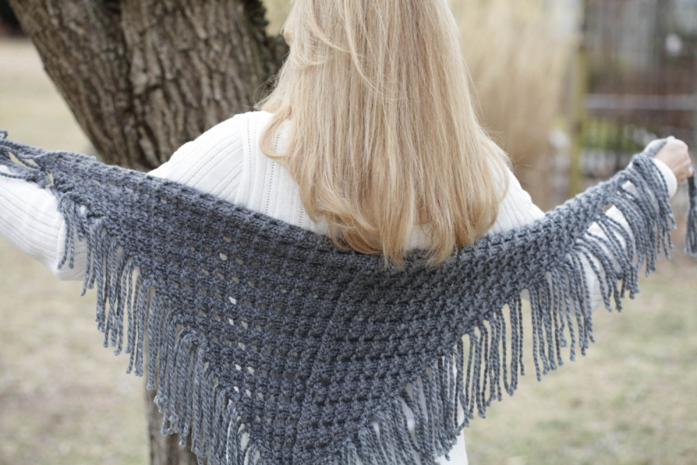 Unique Loom Knit Eyelet Triangle Shawl Pattern Lace Scarf Knitting Sites Of Great 40 Ideas Knitting Sites