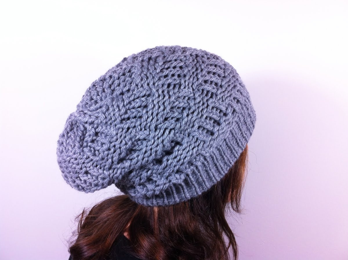 Unique Loom Knit Slouchy Hat Patterns Slouchy Hat Knit Pattern Of Superb 45 Ideas Slouchy Hat Knit Pattern