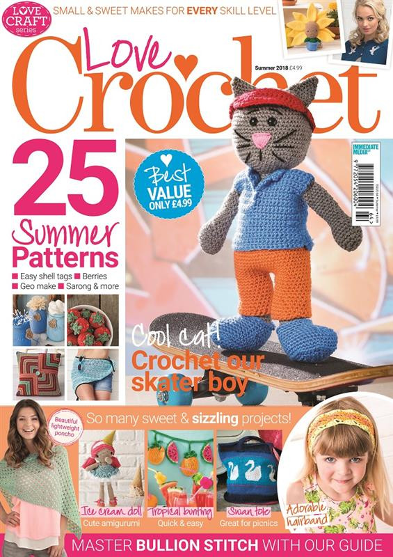 Unique Love Craft Series Love Crochet Summer 2018 Love Crochet Magazine Of Wonderful 48 Pictures Love Crochet Magazine