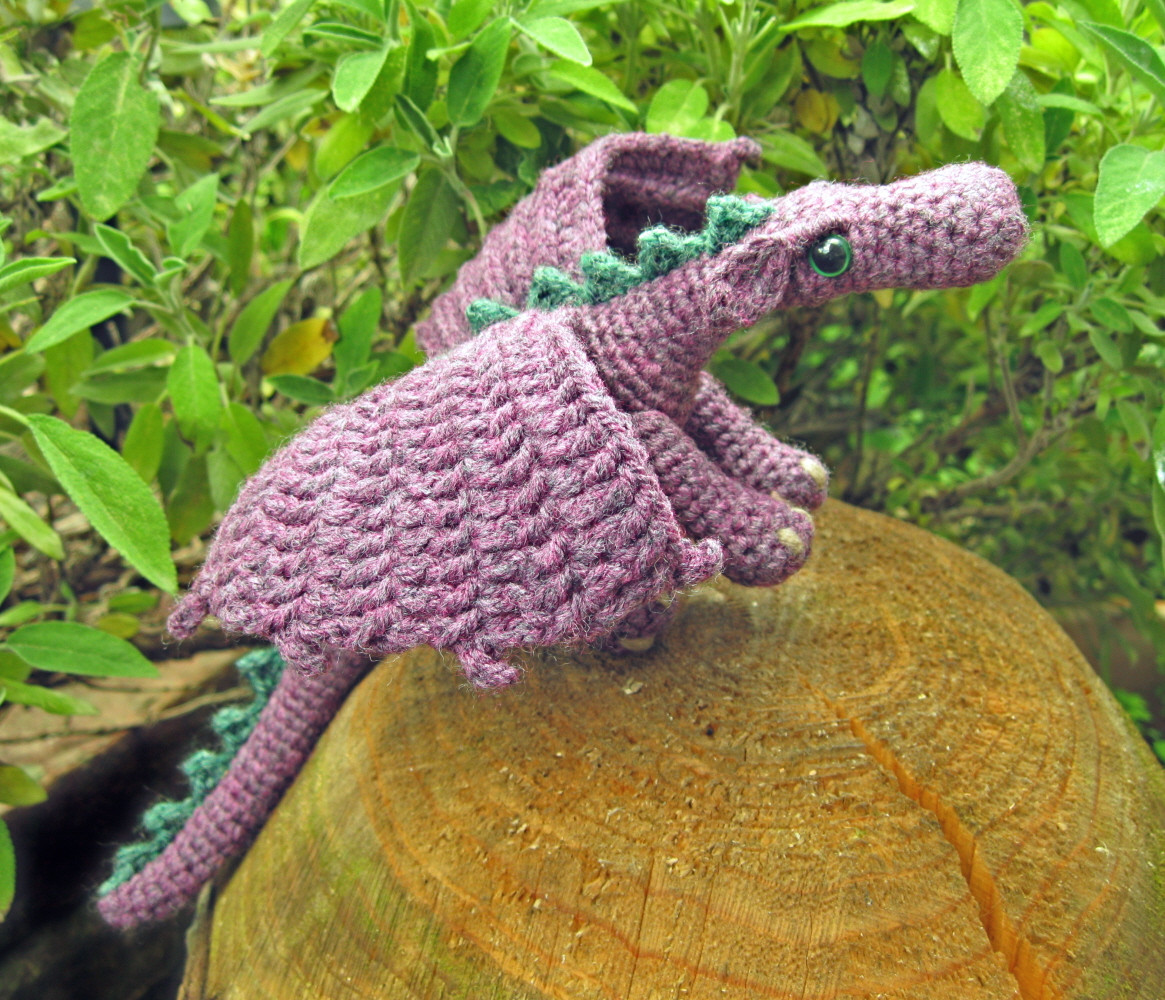 LucyRavenscar Crochet Creatures Fierce Little Dragon