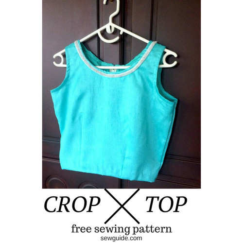 Unique Make A Crop top Free Sewing Pattern & Tutorial Sew Guide Crop top Pattern Of Amazing 41 Models Crop top Pattern