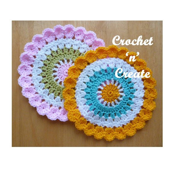 Unique Mandala Table Mat Crochet Pattern Download Cnc11 Crochet Table Mat Of Gorgeous 47 Ideas Crochet Table Mat