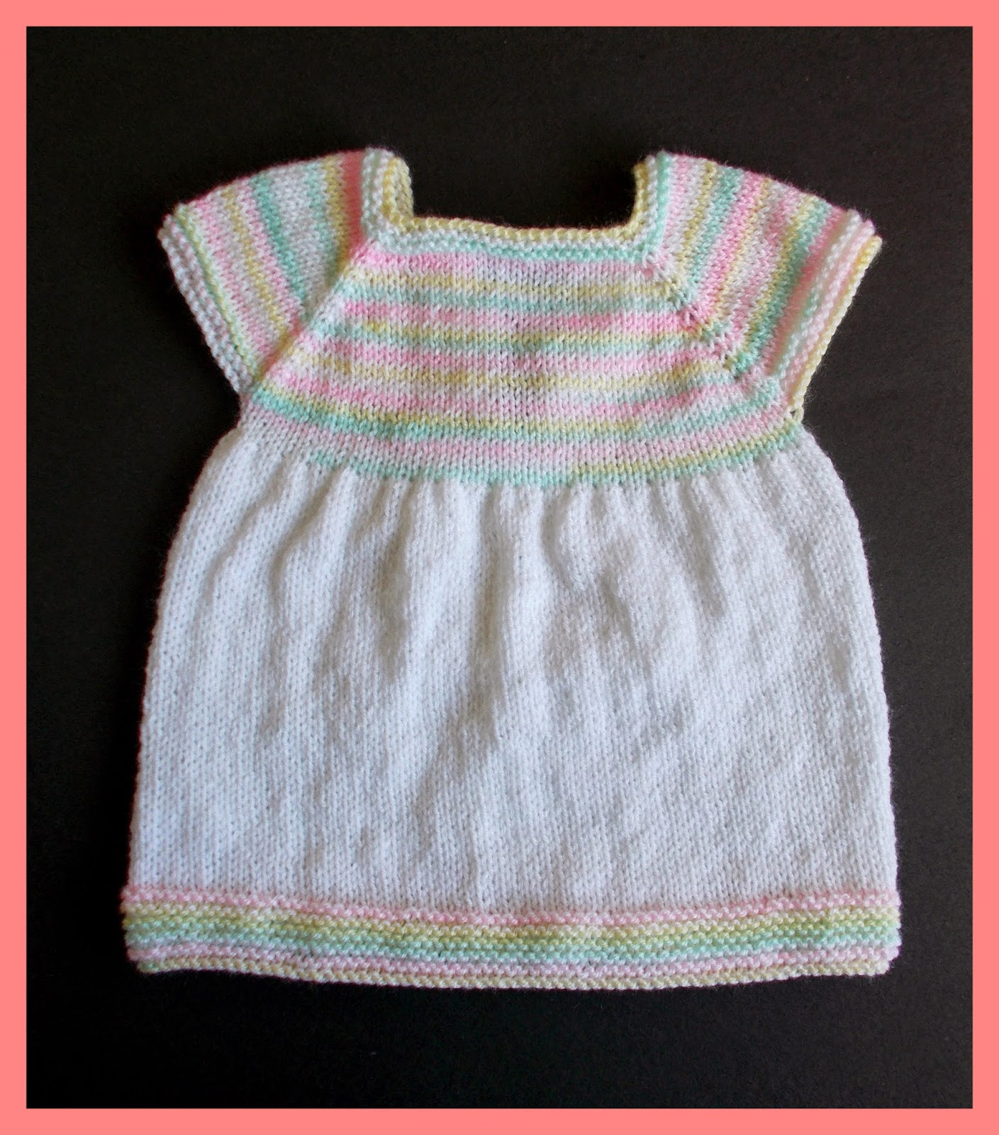 Unique Marianna S Lazy Daisy Days Starting Out Knitted Baby Dress Baby Dress Patterns Of Perfect 47 Models Baby Dress Patterns