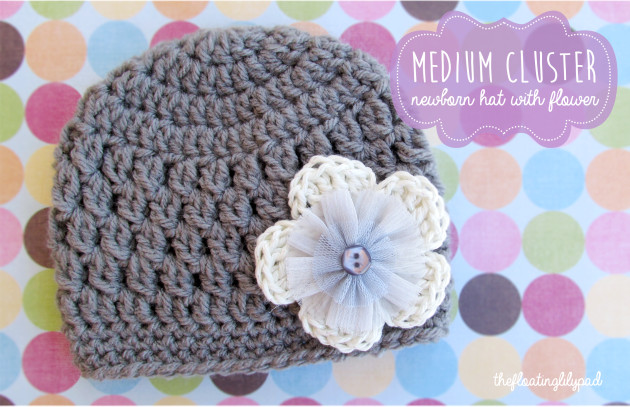 Unique Medium Cluster Crochet Baby Hat with Flower Free Pattern toddler Crochet Hat Pattern with Flower Of Luxury 50 Ideas toddler Crochet Hat Pattern with Flower