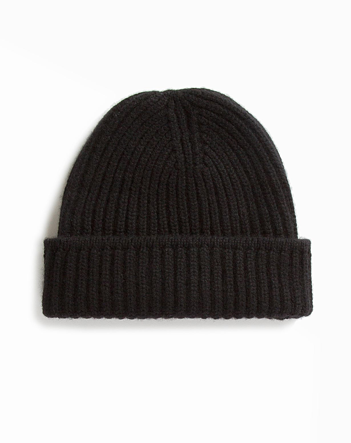 Men s Pure Cashmere Fisherman's Rib Hat