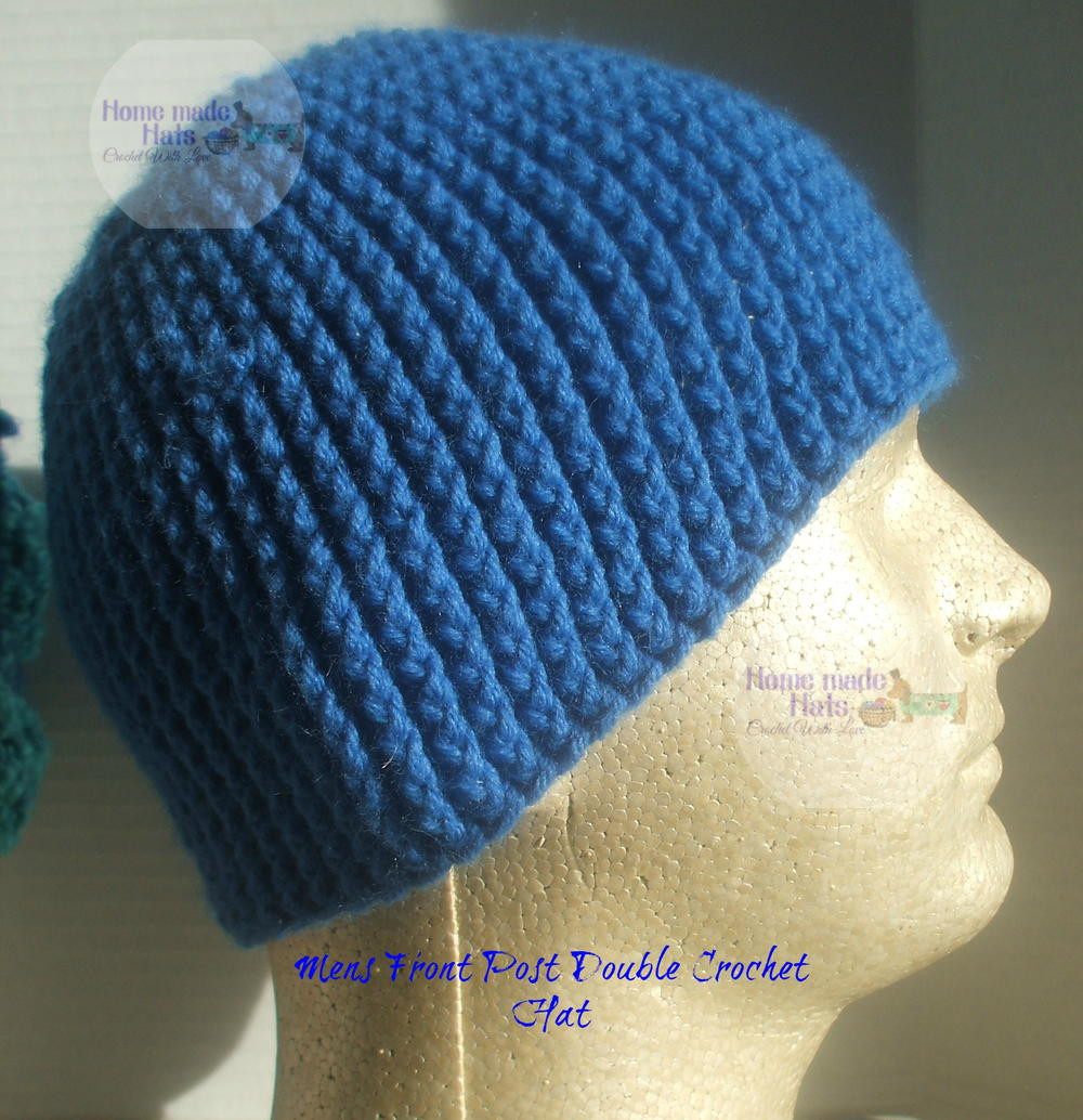 Unique Mens Front Post Double Crochet Beanie Crochet Stitches for Hats Of Lovely 46 Models Crochet Stitches for Hats