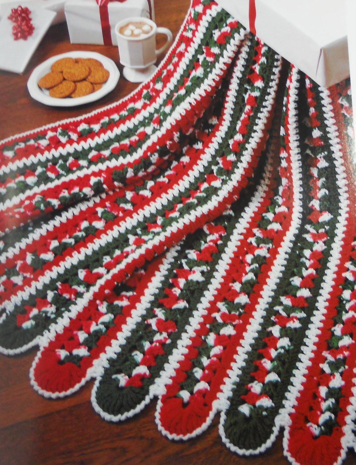 merry and bright christmas crochet