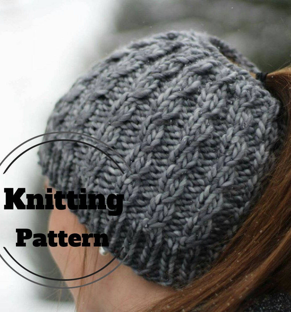Unique Messy Bun and Ponytail Hat Knitting Patterns Ponytail Knit Hat Of Top 46 Pictures Ponytail Knit Hat